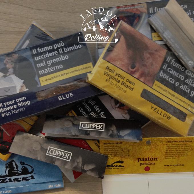 Cartine X Tabacco.Cartine E Tabacco Migliori Da Abbinare Land Of Rolling